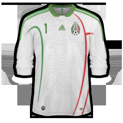 Adidas Mexico Replica 3 Cuartos