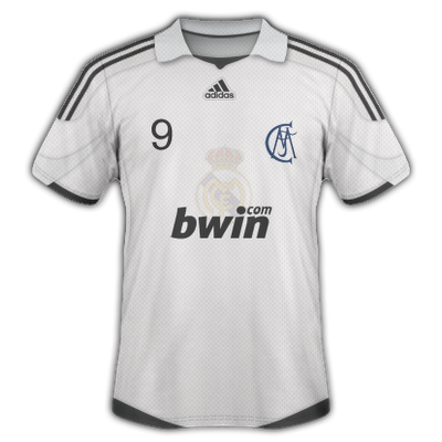 camiseta real madrid plastico