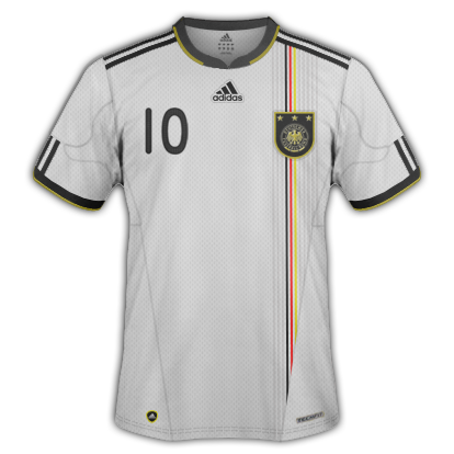 Playera de Alemania